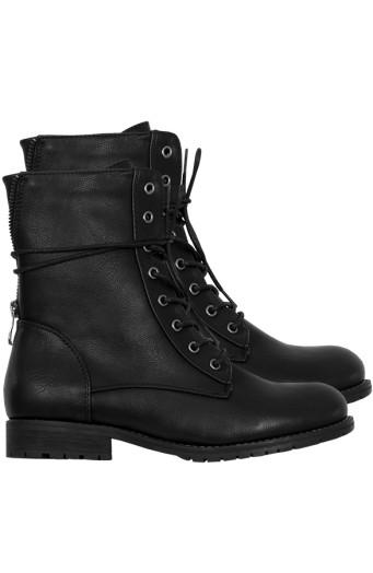 Biker-Buckle-Zip-Boots'