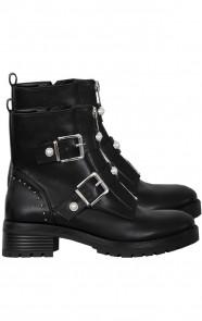 Biker-Boots-Parel-Zwart