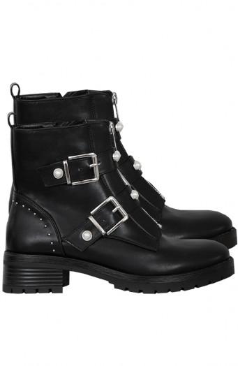 Biker-Boots-Parel-Zwart'
