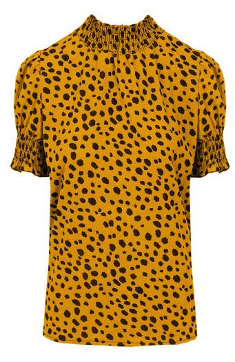 Cheetah-Col-Top-Oker'