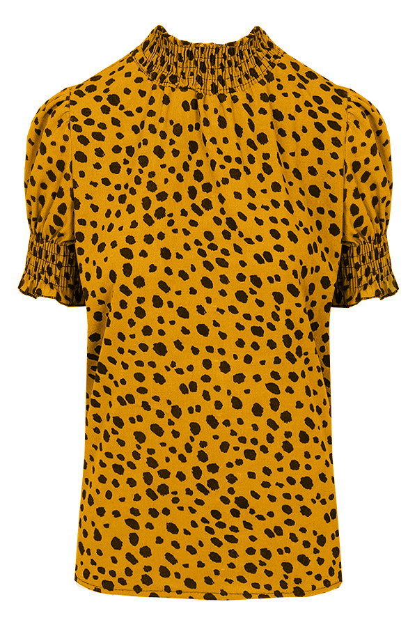 Cheetah-Col-Top-Oker'