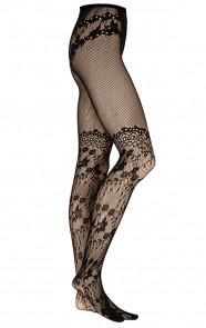 Bloemen-Panty-Zwart-2