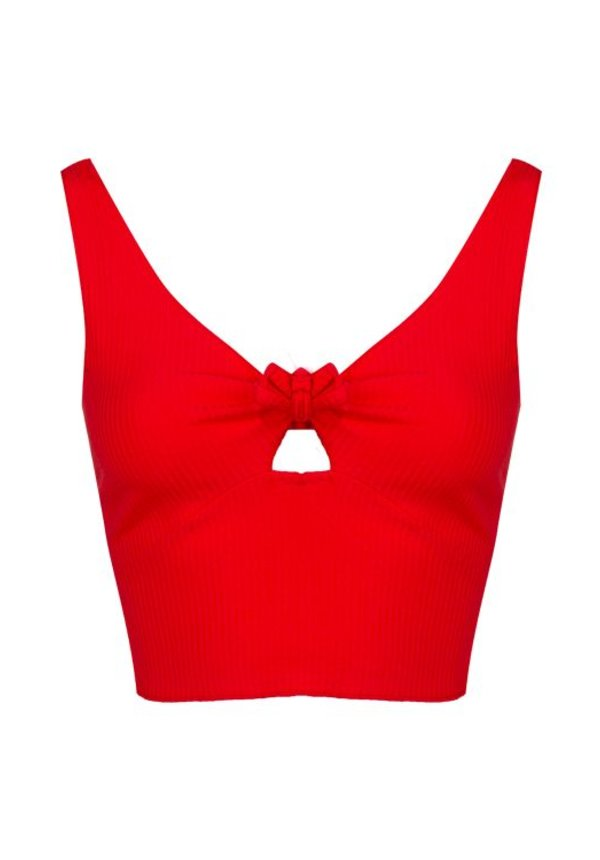 red-crop-top'