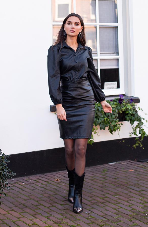 Abby-Leather-Skirt-Black-1