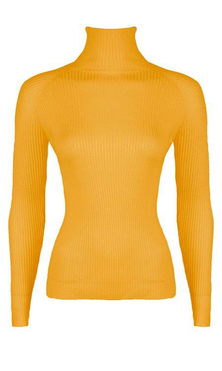 Annelot-Sweater-Okergeel'