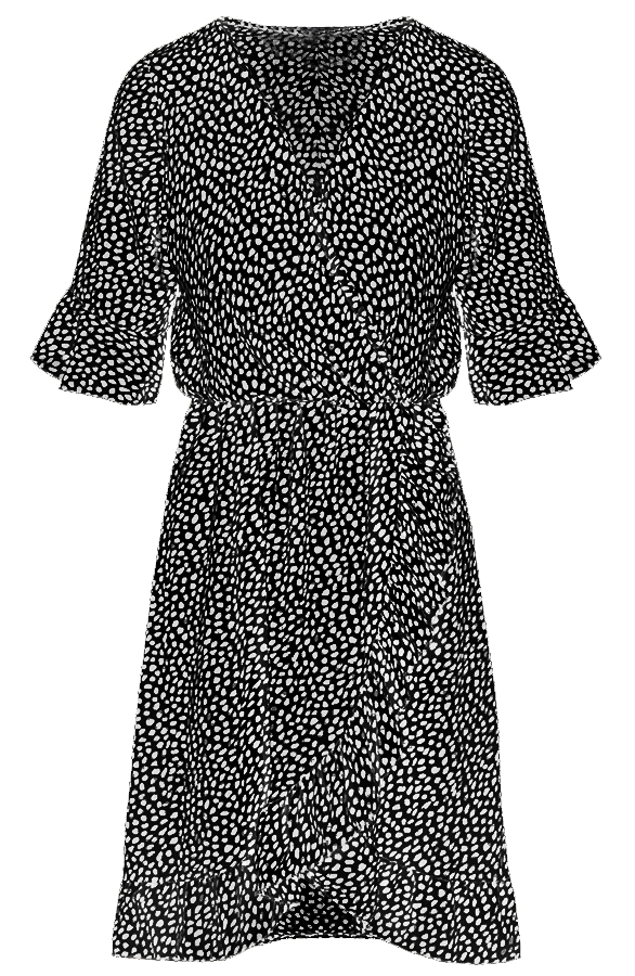 Ayla-Cheetah-Dress-Black'