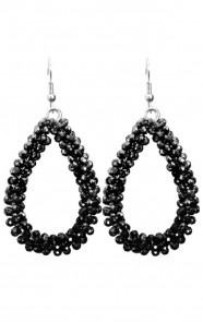 Bella-Oval-Earrings-Black