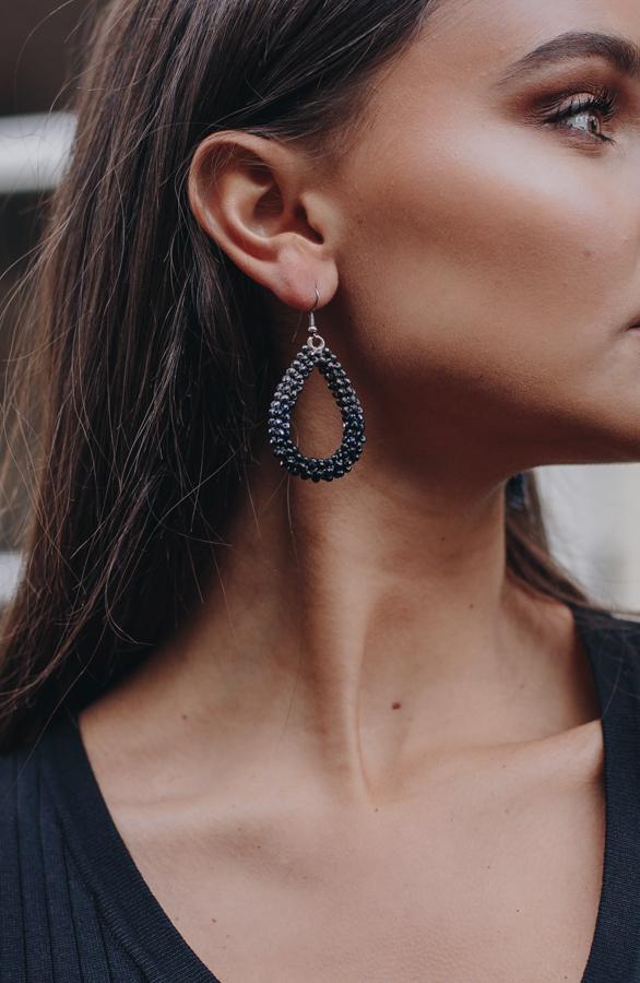 Bella-Oval-Earrings-Black-2-1