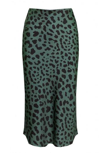 Cheetah-Rok-Zijde-Groen-586x900'