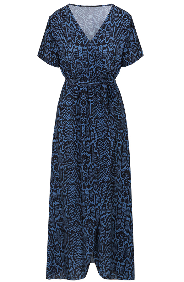 Chloe-Snake-Dress-Blue'