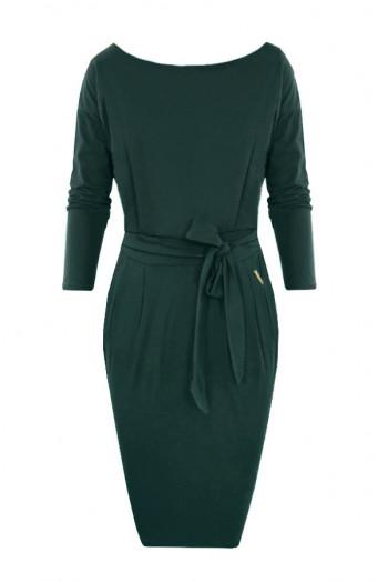 Femme-Fatale-Jurk-Lang-Smaragdgroen-586x900'