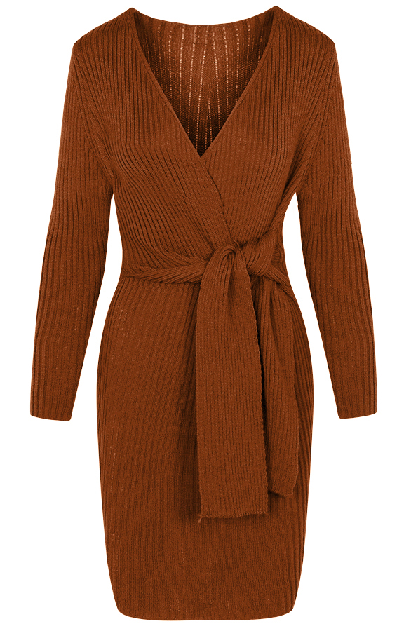 Ivy-Dress-Cognac