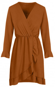 Josh-Dress-cognac