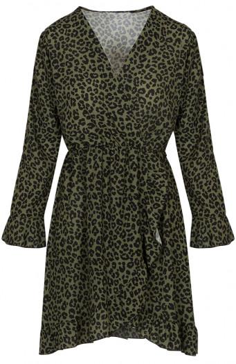 Josh-leopard-dress-khaki'