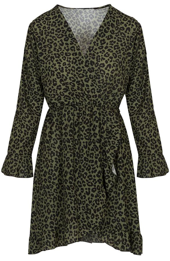 Josh-leopard-dress-khaki