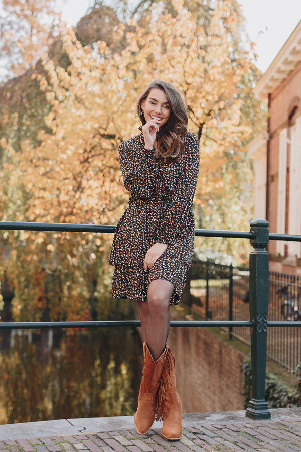 Kate-Print-Dress-Brown-2