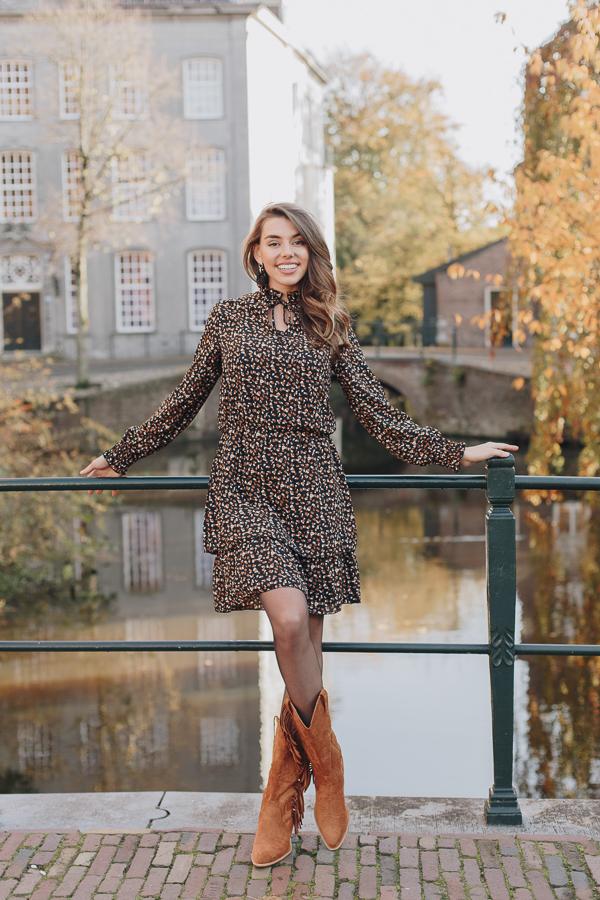 Kate-Print-Dress-Brown-3