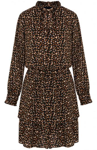 Kate-print-dress-brown'