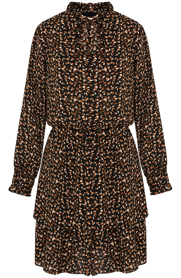 Kate-print-dress-brown'