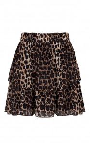Leopard-Laagjes-Rok-Luxury