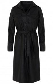 Lina-Leather-Dress-Black
