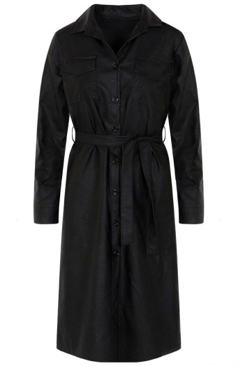 Lina-Leather-Dress-Black'
