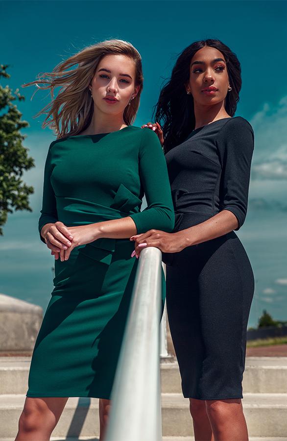 Liv-dress-groen