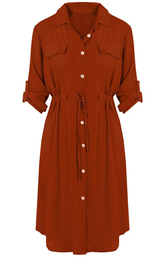 Lucy-Dress-Terracotta'