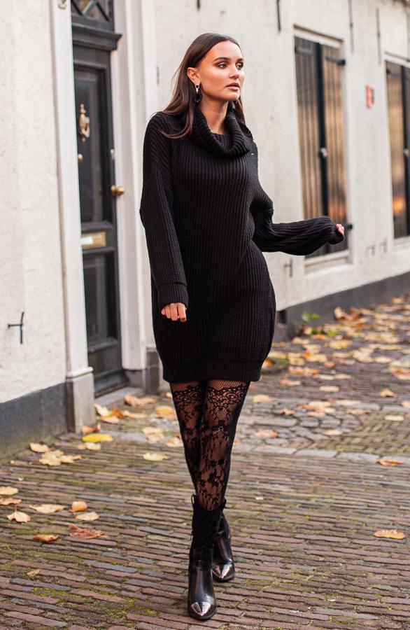 Maggie-Gebreide-Coljurk-Zwart-1