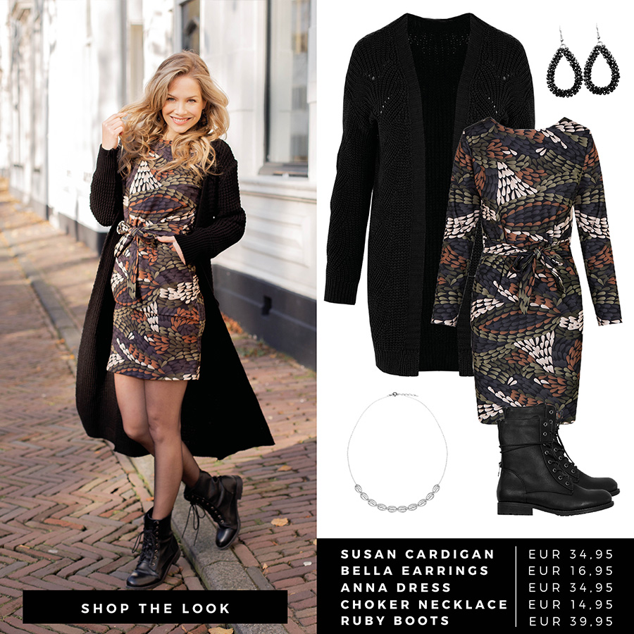 Shop-The-Look-Knitted-Print-Dress-1