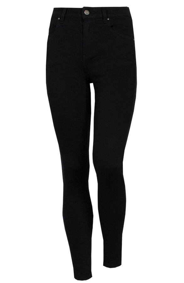 Skinny-Jeans-High-Waist-Zwart'