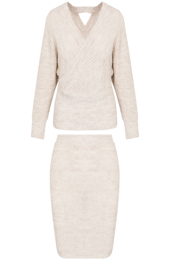 Twin-Set-Knitted-Beige'
