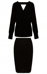 Twin-Set-Knitted-Black