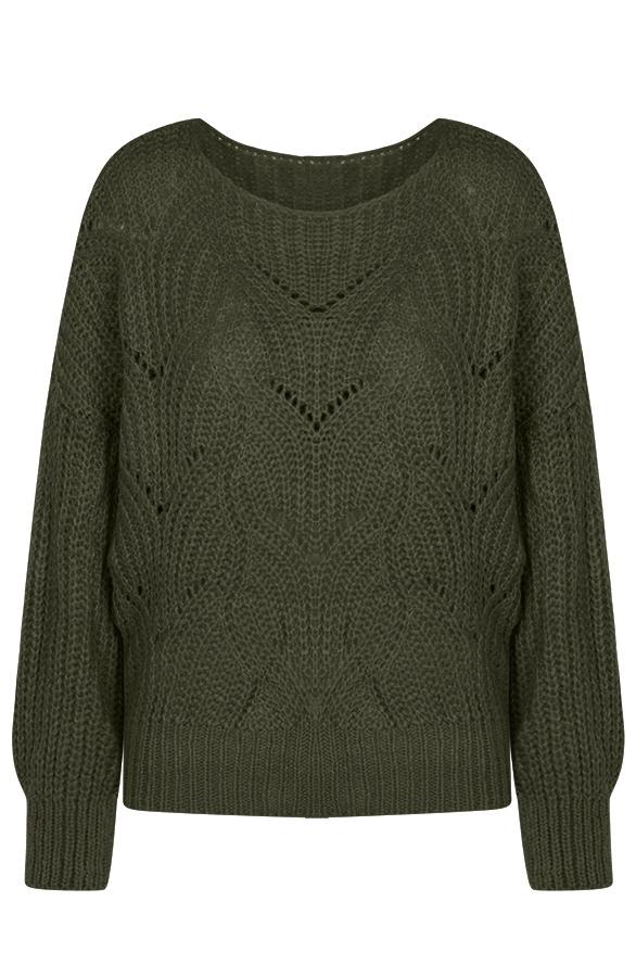 Yara-Sweater-Legergroen'