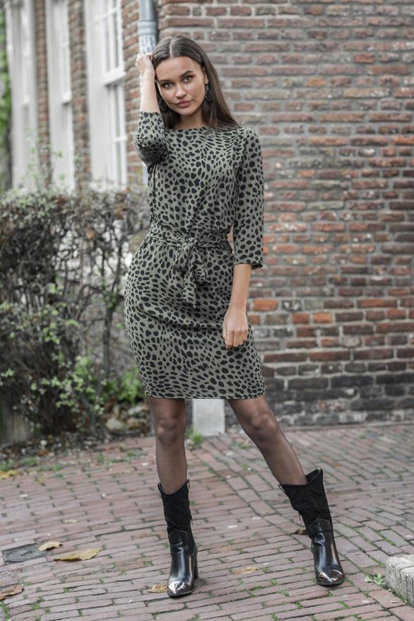 Anna-Strikjurk-Cheetah-Groen-2