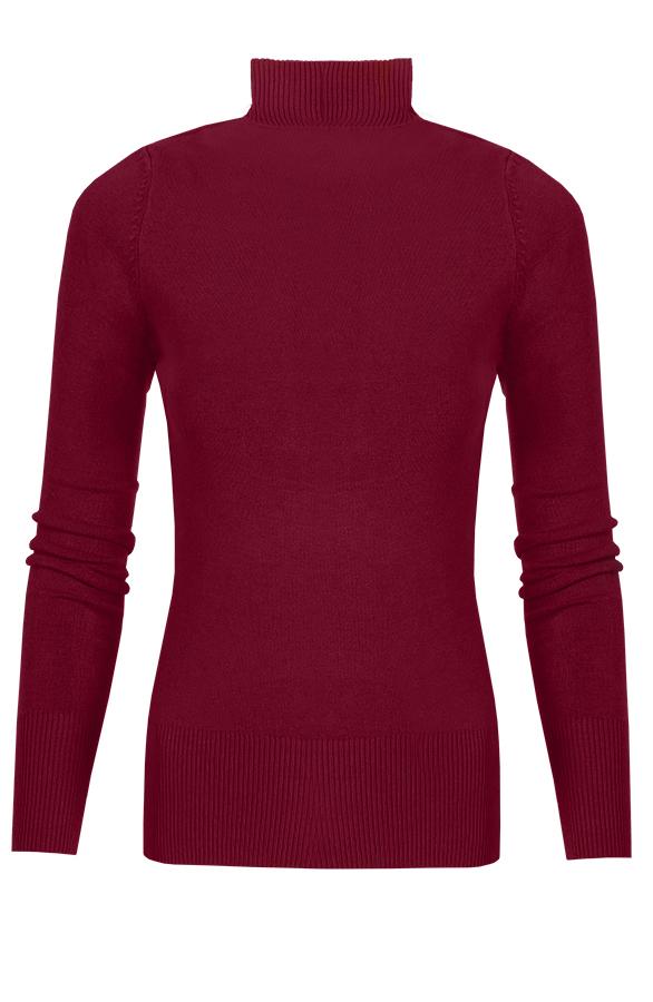 Annelot-Sweater-Bordeaux-Dames'