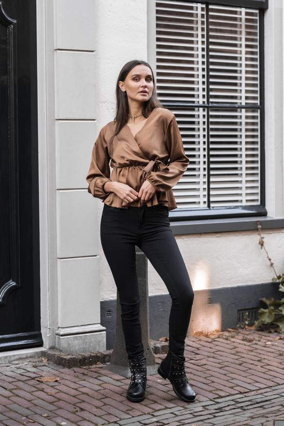 Blaire-Satin-Blouse-Camel-2