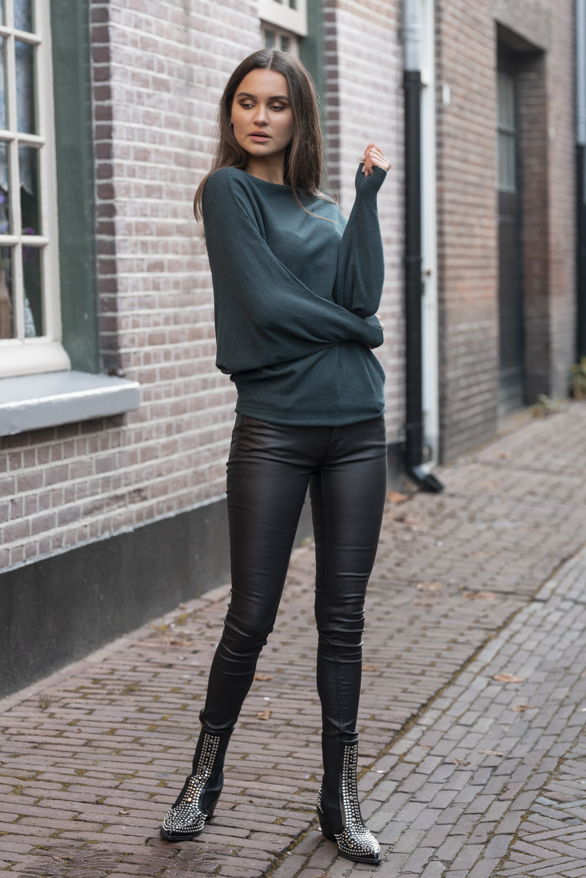 Debby-Sweater-Green-2