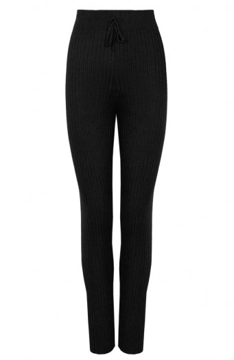 Legging-Knitted-Black'