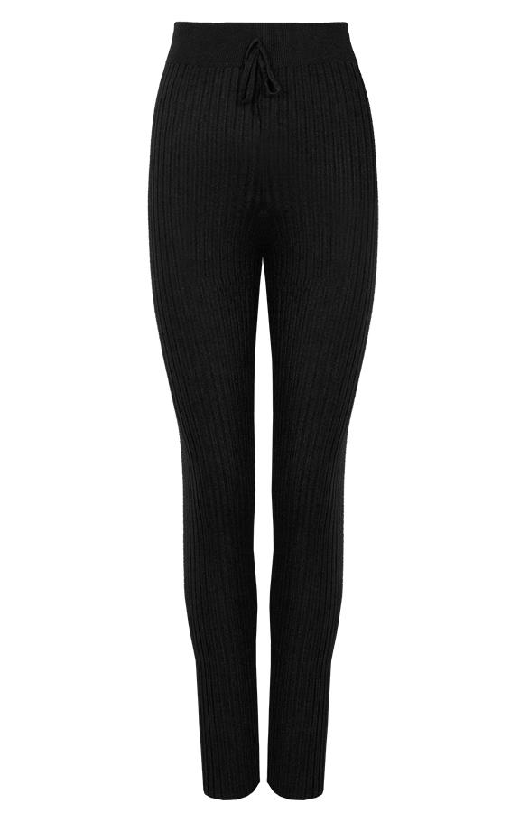 Legging-Knitted-Black