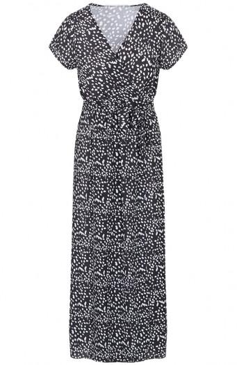 Maya-Cheetah-Dress-Black-2'