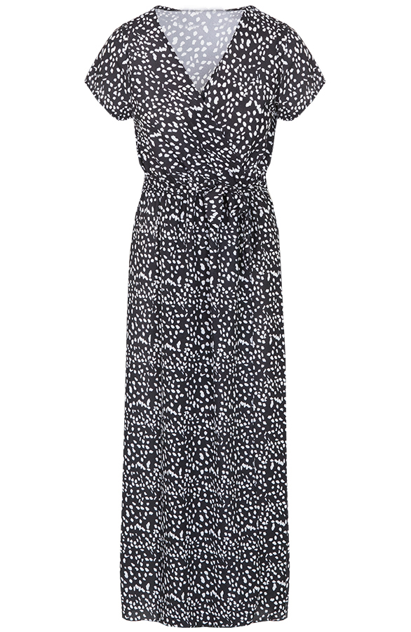 Maya-Cheetah-Dress-Black-2'