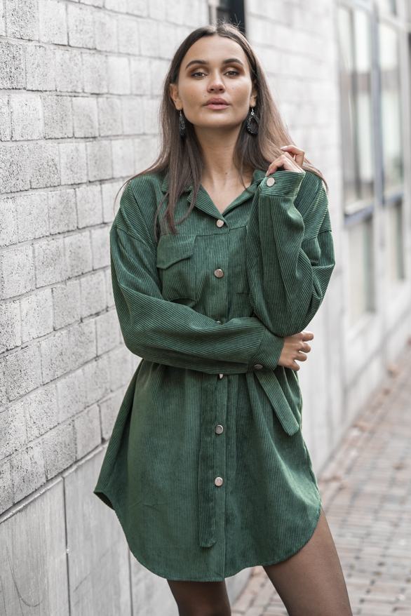 Peggy-Corduroy-Jurk-Smaragdgroen-2