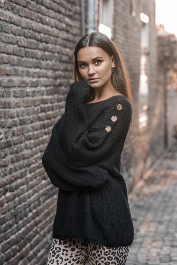 Silva-Button-Sweater-Black-1