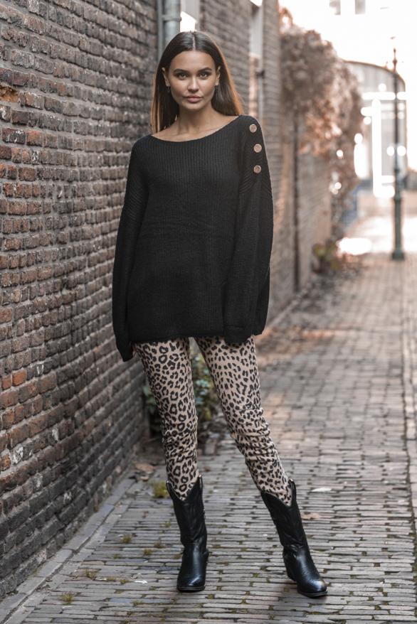 Silva-Button-Sweater-Black-4