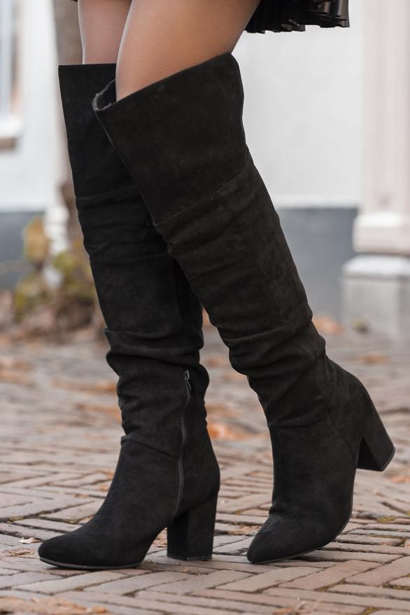 Sophia-Overknee-Laarzen-Zwart-2