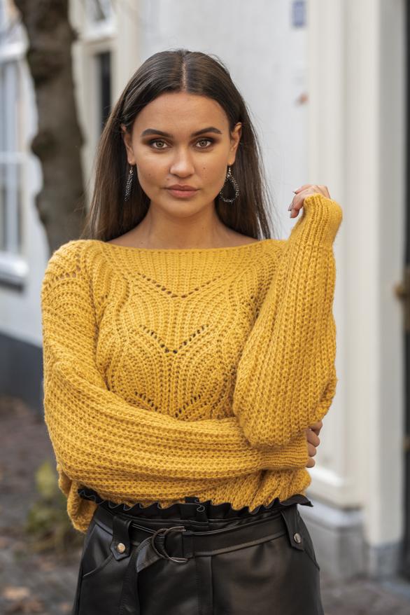 Yara-Sweater-Okergeel-1