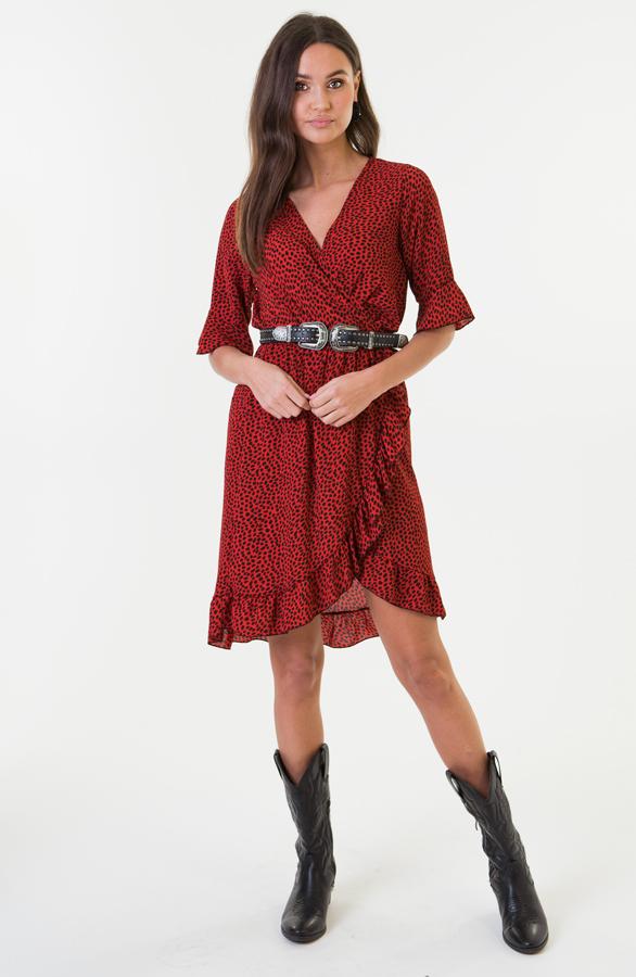 Ayla-Cheetah-Dress-Red-2