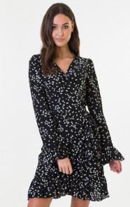 Bobbie-Heart-Dress-Zwart-Wit-1