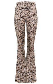 Cheetah-Flared-Broek
